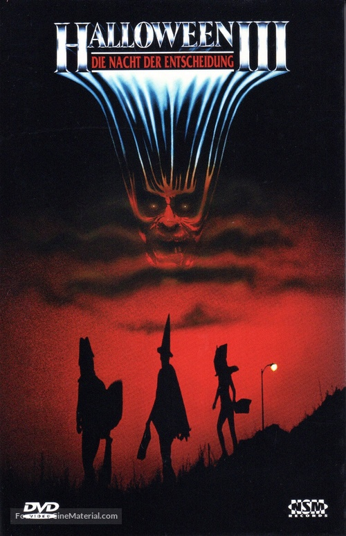 Halloween III: Season of the Witch - Austrian DVD cover