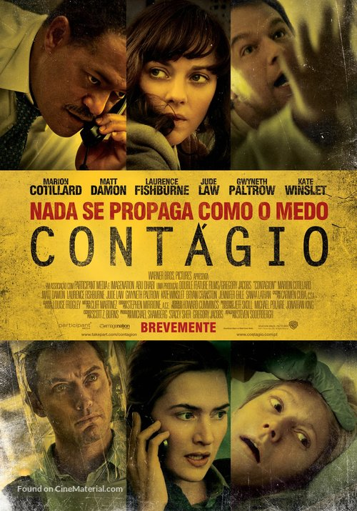 Contagion - Portuguese Movie Poster
