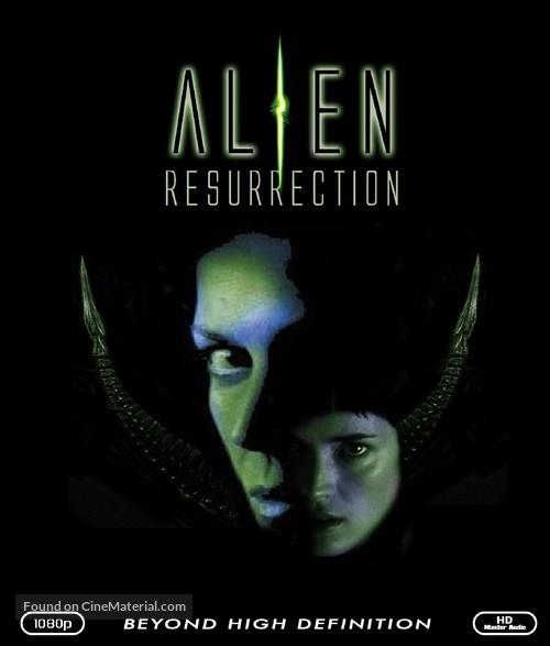 Alien: Resurrection - Blu-Ray cover