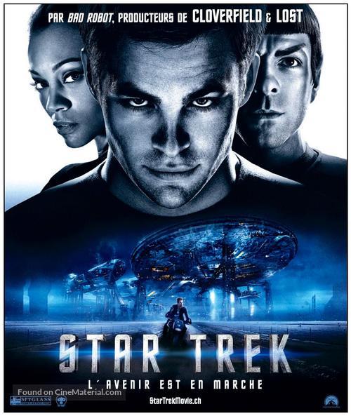 Star Trek - Swiss Movie Poster