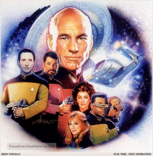 """Star Trek: The Next Generation"" - Movie Poster"