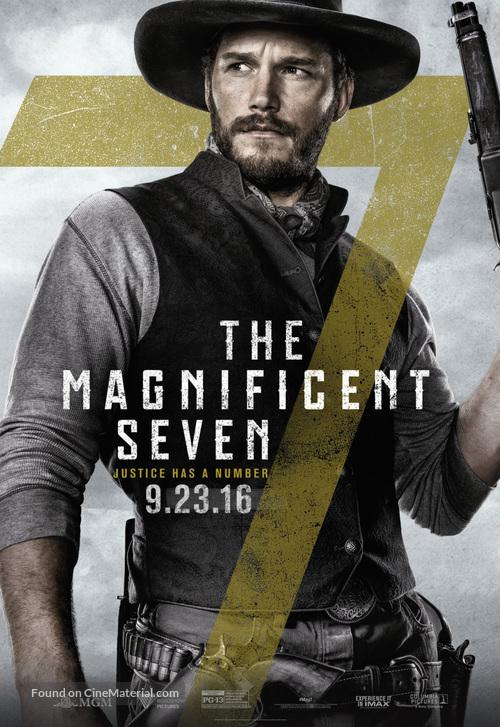 The Magnificent Seven 2016 Hindi Daul Audio 720p 1.1GB BluRay DD5.1