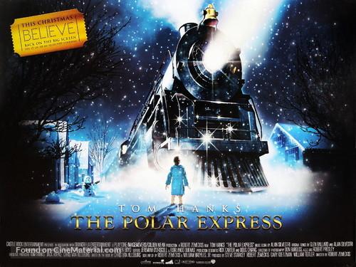 The Polar Express - British Movie Poster