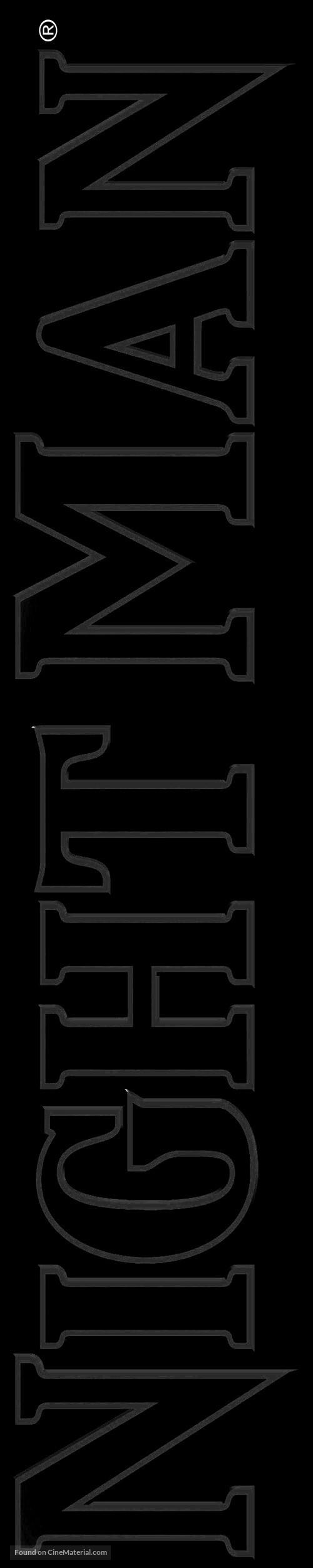 NightMan - Logo
