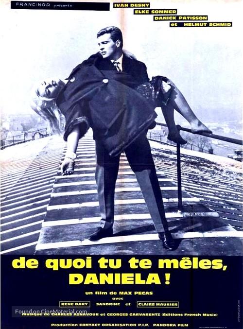 De quoi tu te mêles Daniela! - French Movie Poster