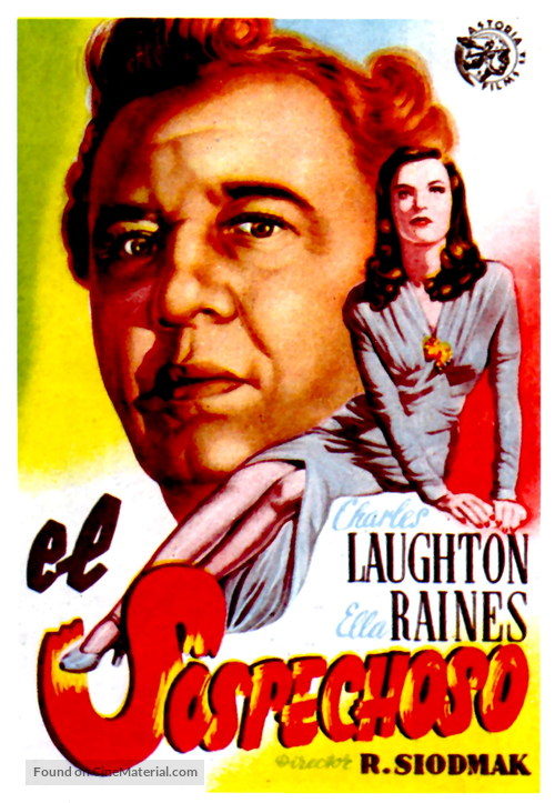 The Suspect - Spanish Movie Poster