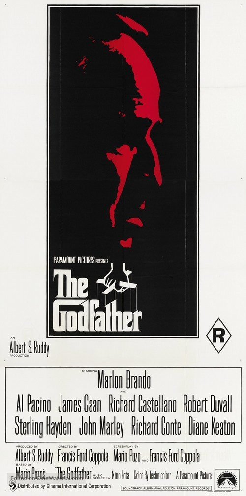 The Godfather - Australian Movie Cover