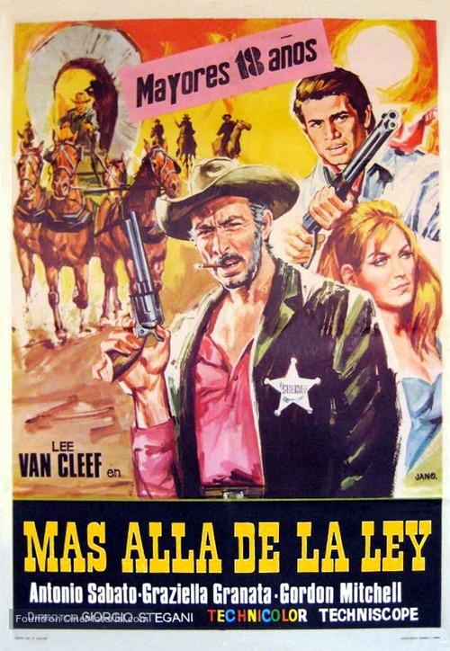 Al di là della legge - Spanish Movie Poster