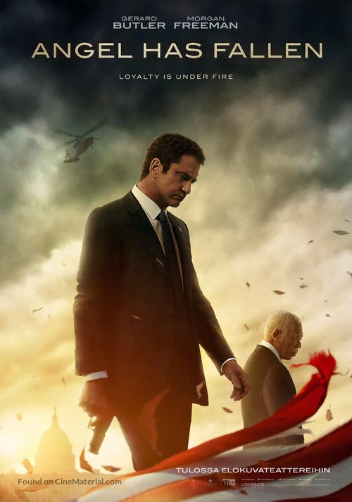 Angel Has Fallen - Finnish Movie Poster
