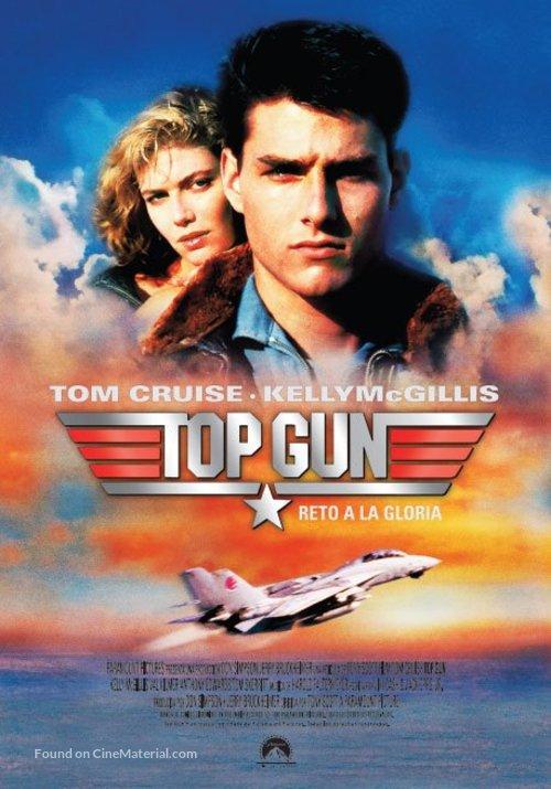 Top Gun - Argentinian Movie Poster