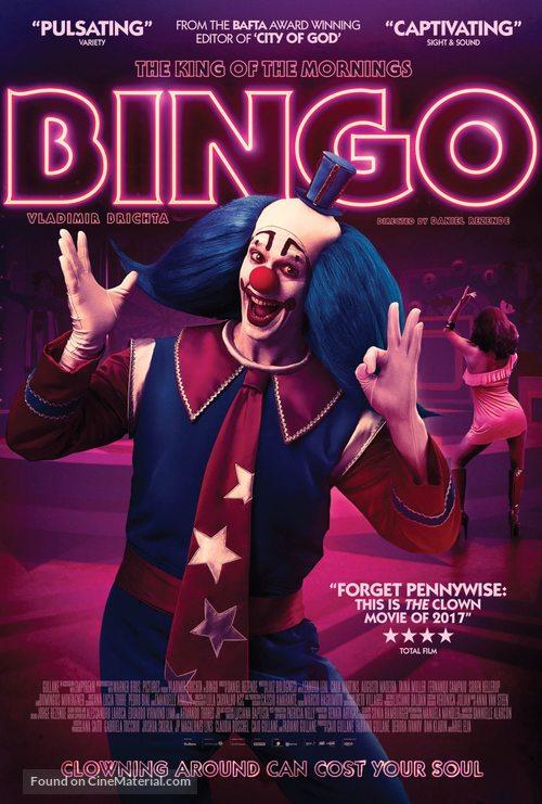 Bingo: O Rei das Manhãs - British Movie Poster