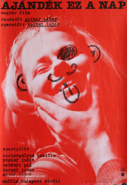 Ajándék ez a nap - Hungarian Movie Poster