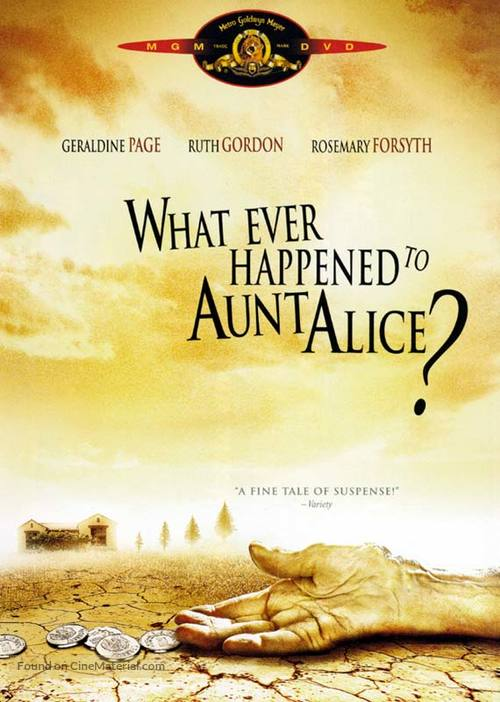 What Ever Happened to Aunt Alice? - DVD cover
