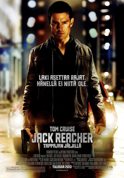 Jack Reacher - Finnish Movie Poster