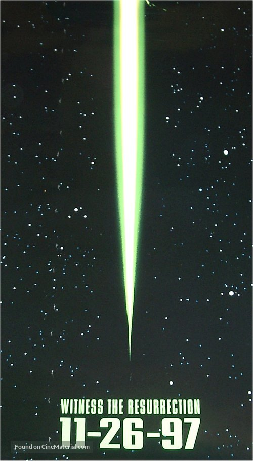Alien: Resurrection - Movie Poster