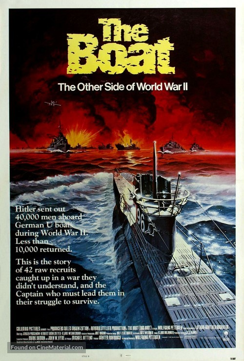 Das Boot - Movie Poster