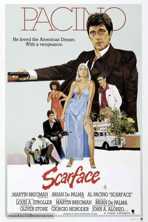 Scarface - Australian Movie Poster