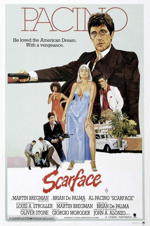 Scarface - Australian Movie Poster