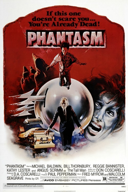 Phantasm - Movie Poster
