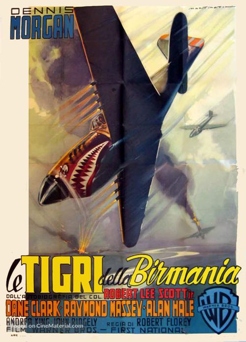 God Is My Co-Pilot - Italian Movie Poster