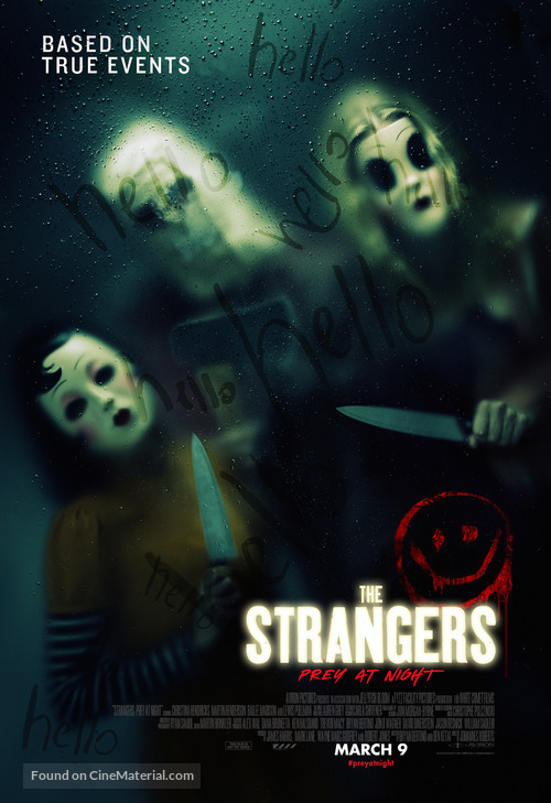The Strangers: Prey at Night - Movie Poster