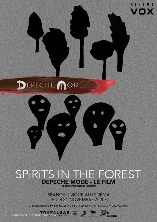 Spirits in the Forest - French Movie Poster
