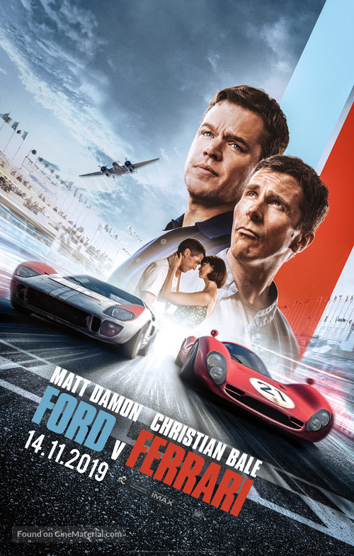 Ford v. Ferrari -  Movie Poster