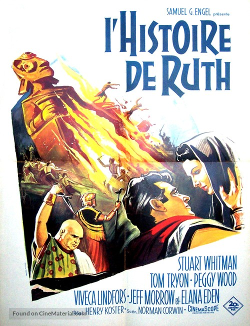 The Story of Ruth - French Movie Poster