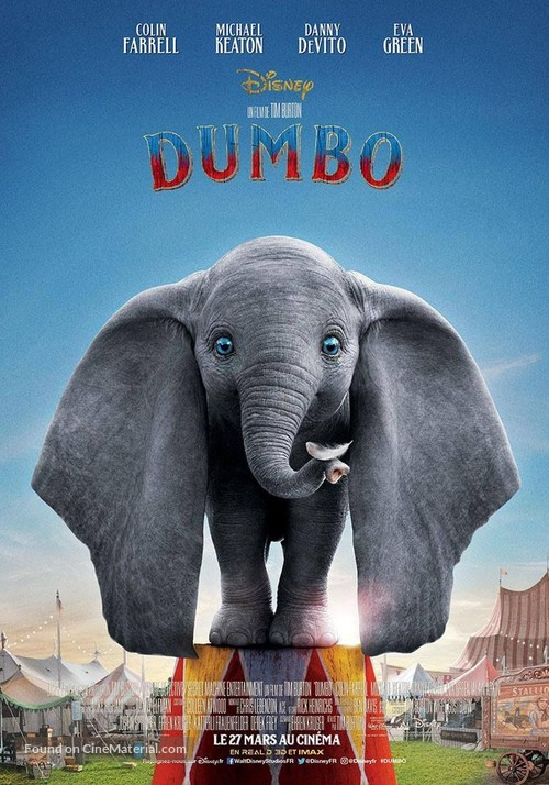 Dumbo - French Movie Poster