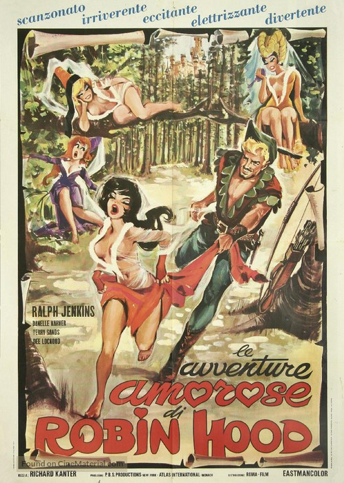 The Ribald Tales of Robin Hood - French Movie Poster