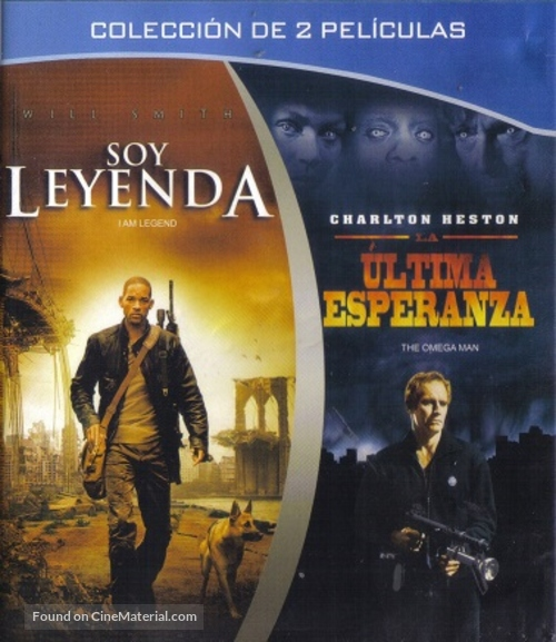 The Omega Man - Mexican Blu-Ray cover