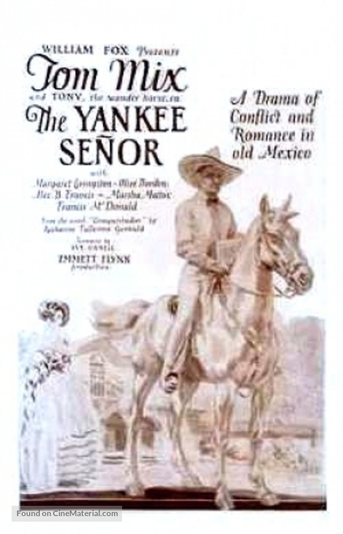 The Yankee Señor - Movie Poster
