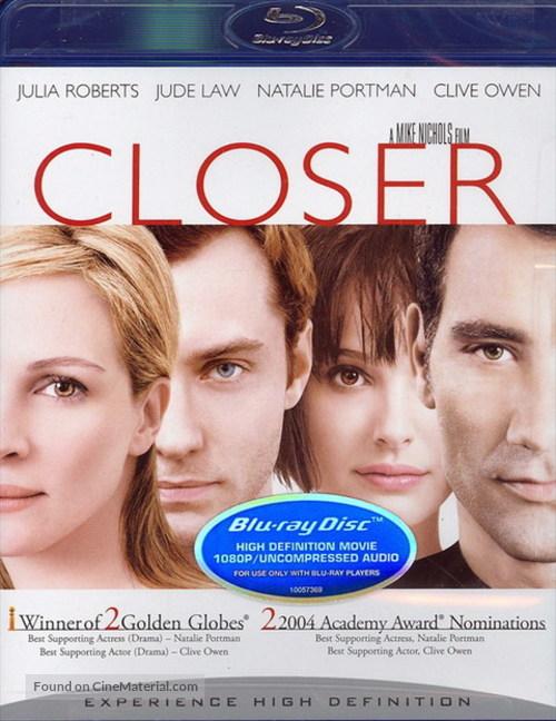 Closer - Blu-Ray cover