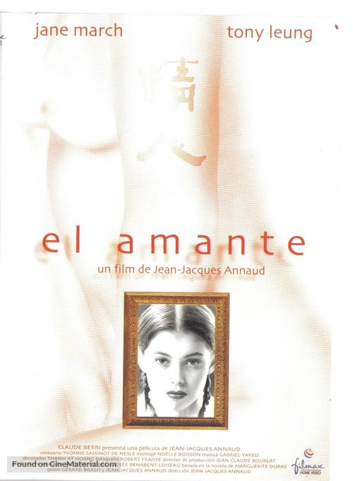 L'amant - Spanish Movie Poster
