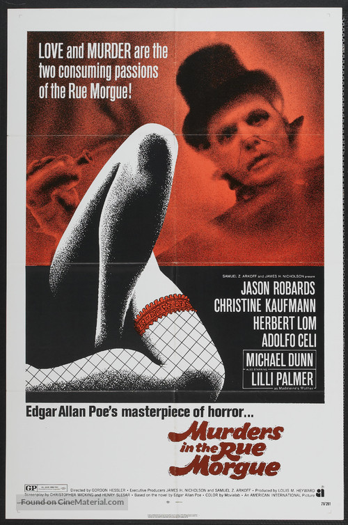 Murders in the Rue Morgue - Movie Poster