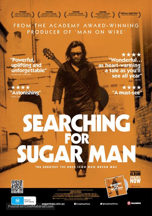 Searching for Sugar Man - Australian Movie Poster