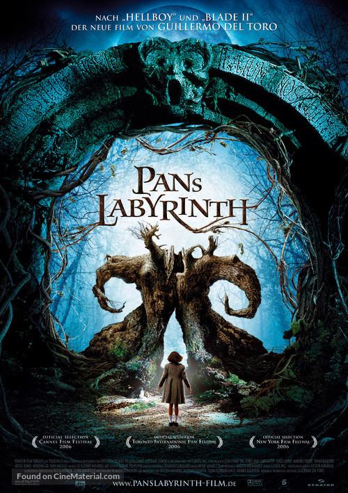 El laberinto del fauno - Danish Movie Poster