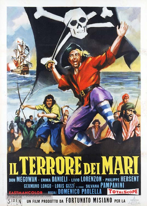 Terrore dei mari, Il - Italian Movie Poster
