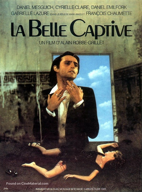 La belle captive - French Movie Poster