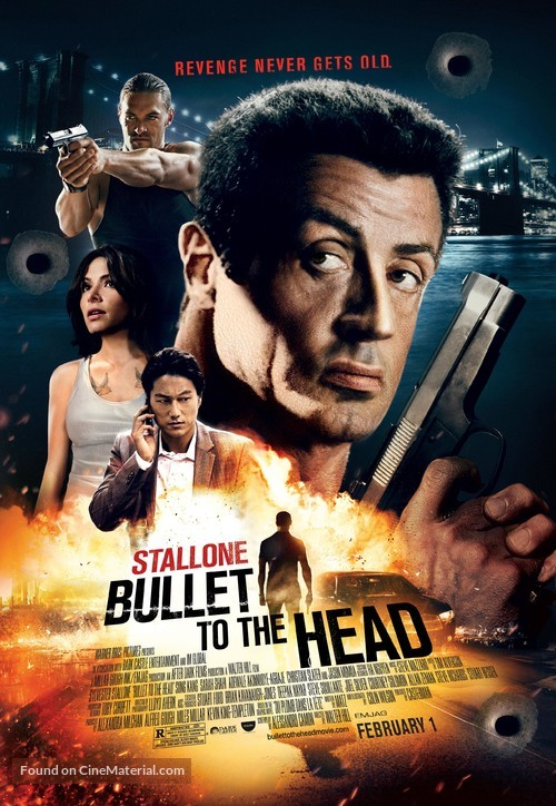 Bullet to the Head - Theatrical poster