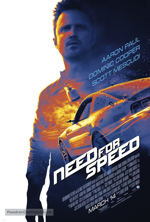 Need for Speed - Theatrical poster