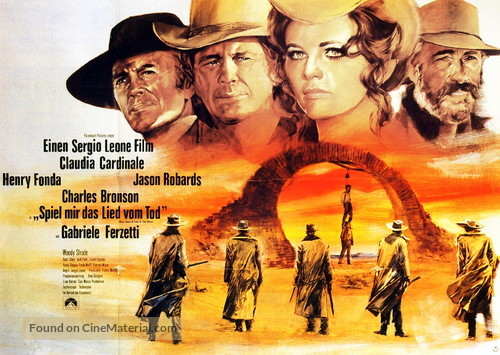 C'era una volta il West - German Movie Poster