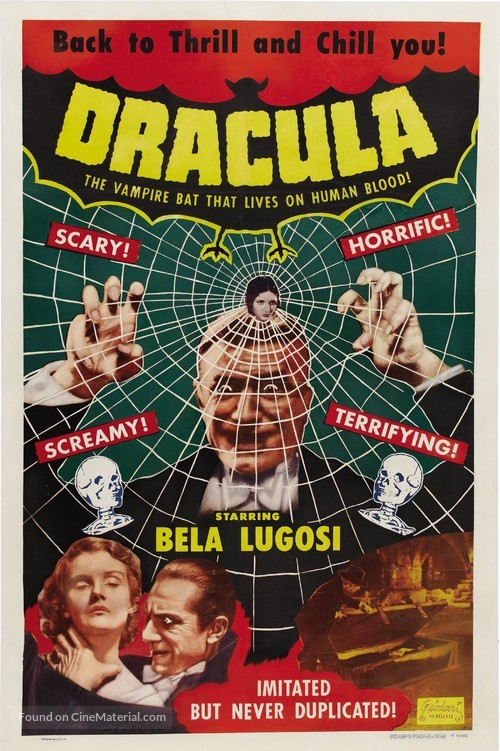 Dracula - Re-release poster