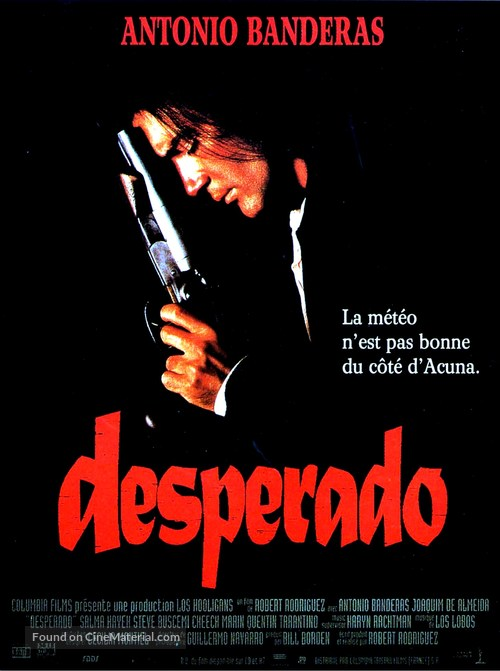 Desperado - French Movie Poster