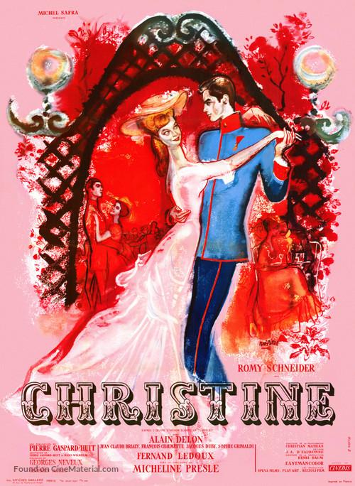 Christine - French Movie Poster