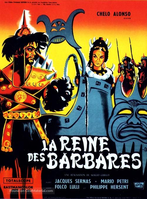 La regina dei tartari - French Movie Poster