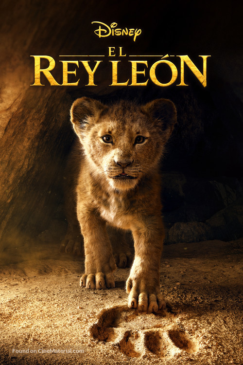 The Lion King - Spanish Movie Cover