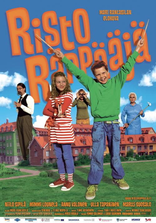 Risto Räppääjä - Finnish Movie Poster
