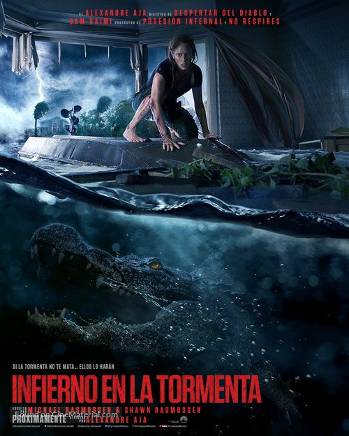 Crawl - Mexican Movie Poster