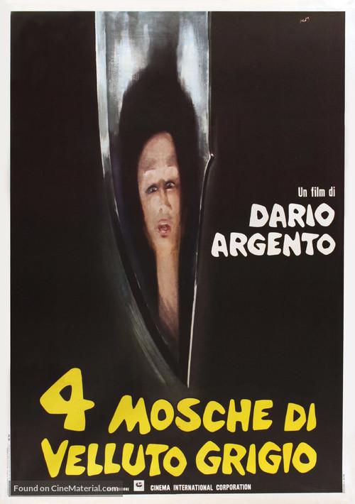 4 mosche di velluto grigio - Italian Movie Poster